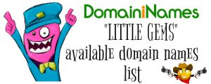 """Little Gems"" Expired Domain Names List 27 March 2020"